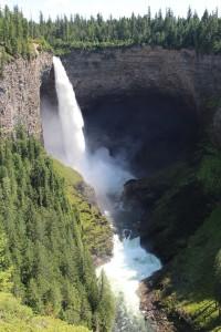 Wasserfallhoch