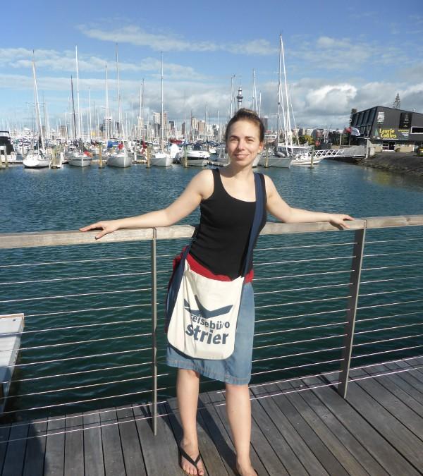 Jana in Neuseeland