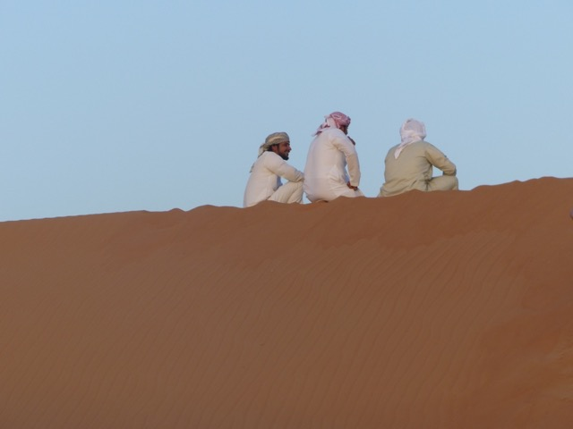 Ralf im Oman mit SKR