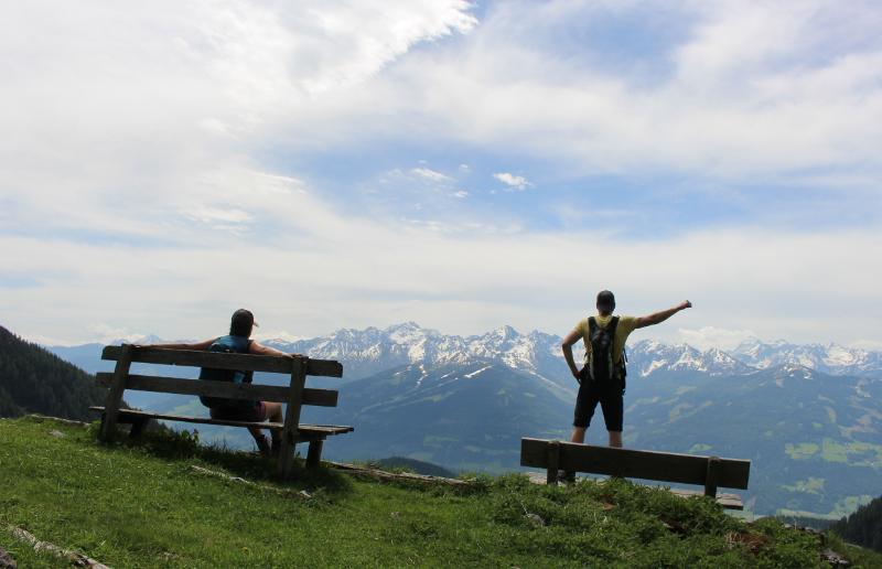 Vera wandert in der Steiermark
