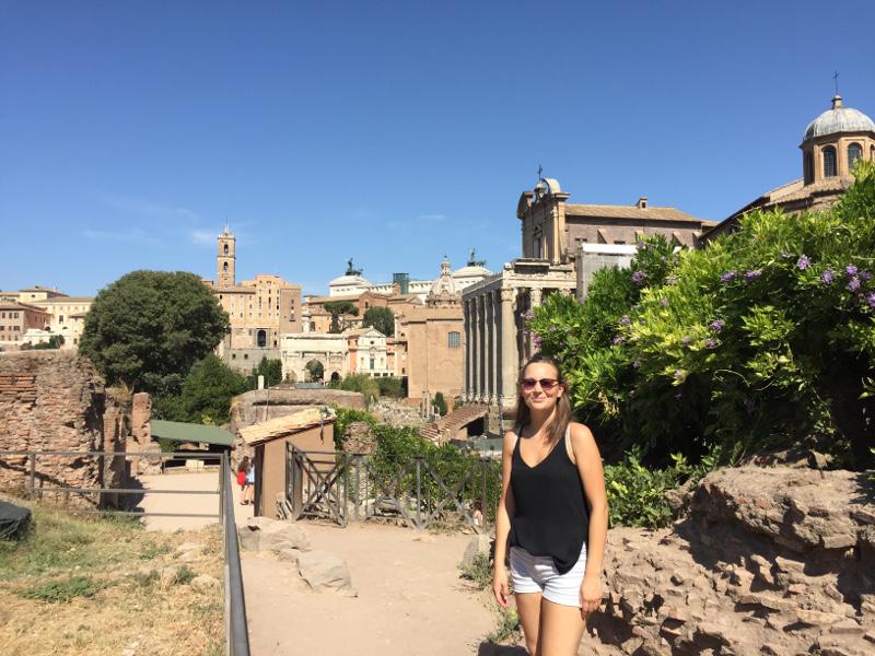 Sina in Rom