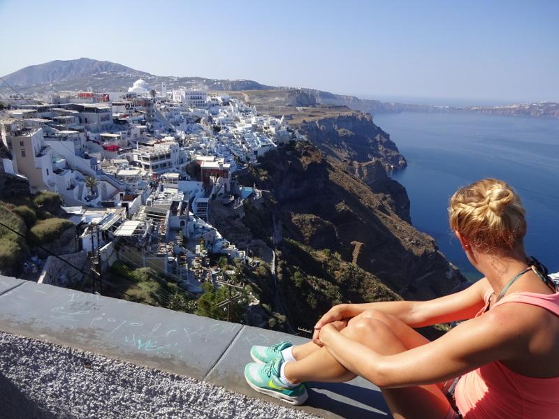 Steffi beim Inselhüpfen in Griechenland