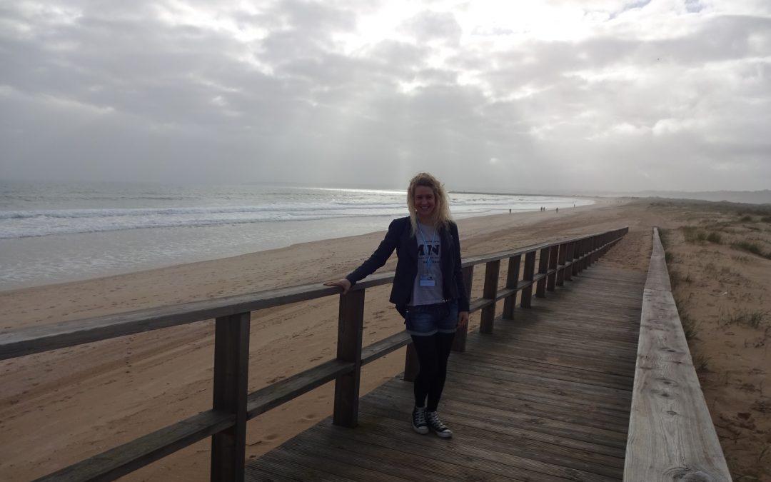 Steffi an der Algarve