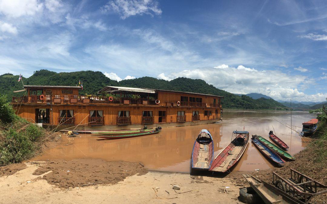 Laos — Ralf unterwegs auf dem Mekong